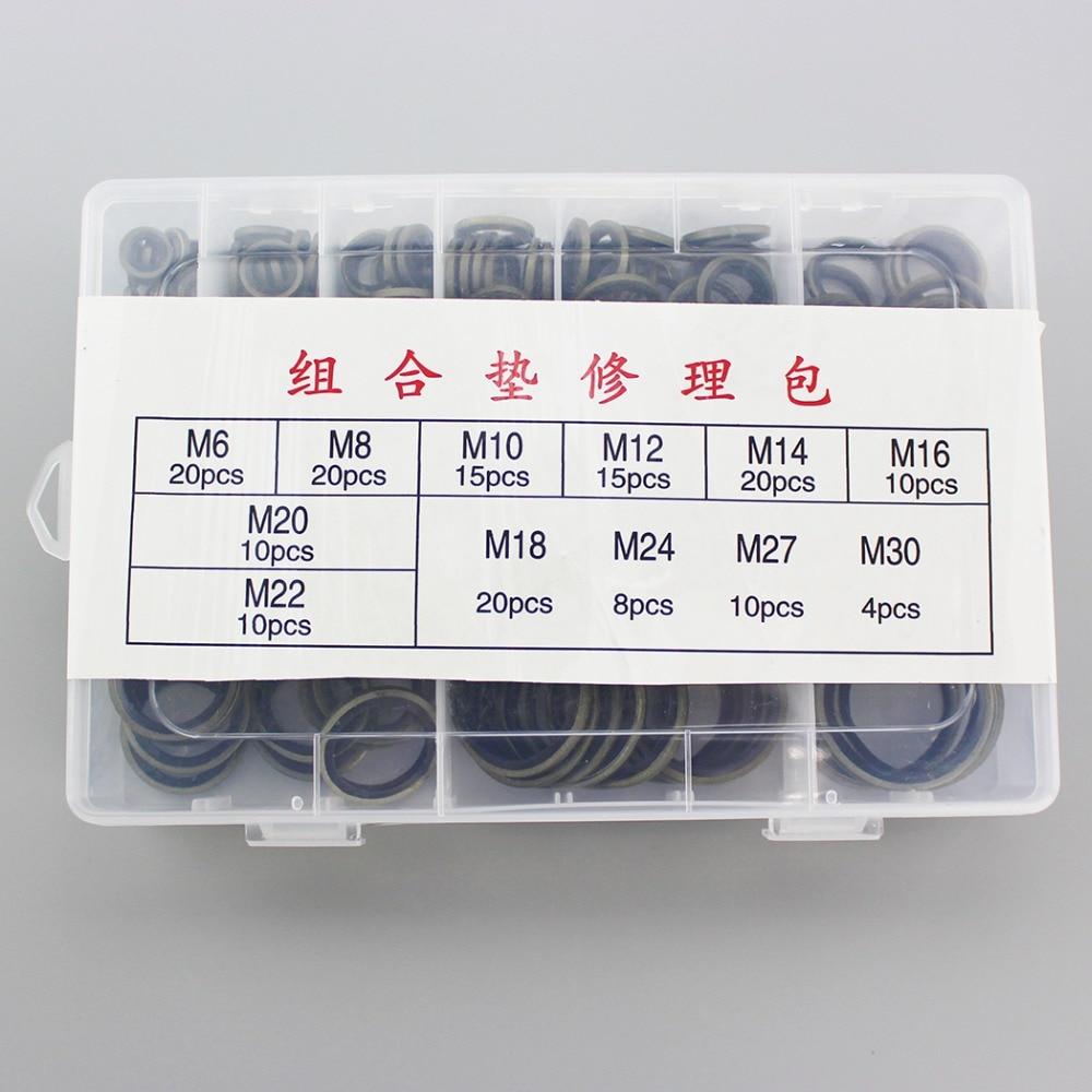Durable Washer Sealing O-Ring Sockets M6 M8 M10 M12 M14 M16 M18 M20 M22 M24 M27 M30 M33 M36 M39 M42 M45 M48 M52 M60 Metal Gasket