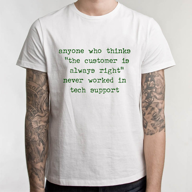 8c2134f1 Funny Sayings Computer T Shirt Tech Support Geek Nerd Tee Men Funny Casual  Streetwear Hip Hop Printed T Shirt