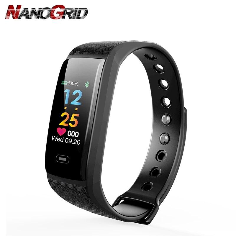 Digitale Smart Armband CK17S Bloeddruk Hartslagmeter Horloge Armband - Herenhorloges