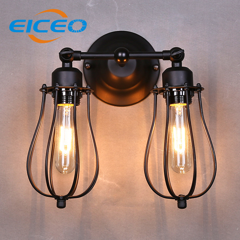 (EICEO) American Grapefruit Wall Headed Back Bedroom Bedside Lamp Modern Living Room Balcony Aisle Wall Lamp Stair Light AC220V wall light 12w led wall lamp bedroom bedside living room hallway stairwell balcony aisle balcony lighting ac85 265v hz64