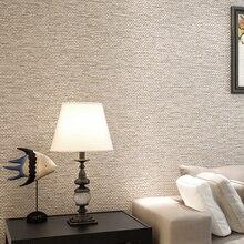 Moderne Einfache Einfarbige Grau Beige Leinen Stroh Tapete Für Wände 3 D  Strömten Wohnzimmer Sofa Schlafzimmer