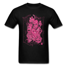 Custom Men T Shirts Monsters Closet Come In Pink Tshirt Family Halloween Sleeves O-Neck Pure Cotton Tops & Tees Street T-shirts