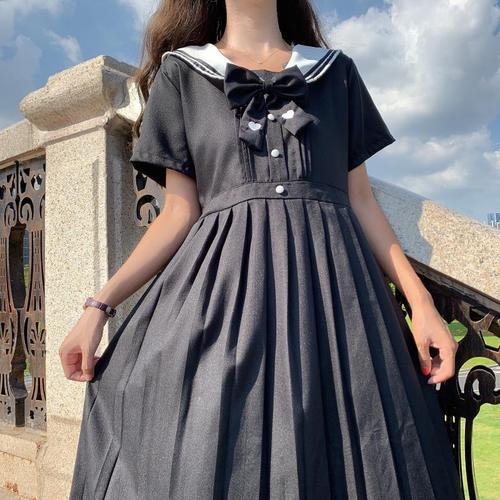 """Antique Doll Pattern 14/"""" ~ Middy Dress with Sailor Collar"""