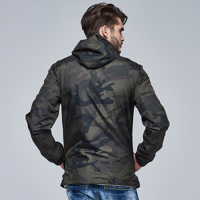 TREND Windbreaker Camouflage Jacket