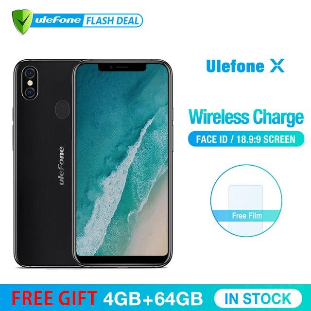Ulefone X телефон смартфон телефоны смартфоны 5.85