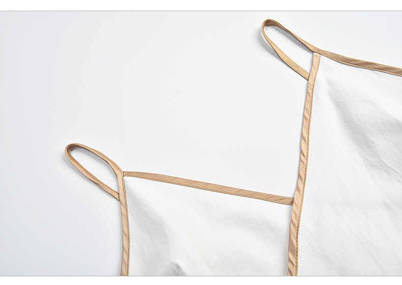 сарафан женский летний 2019 платья больших размеров одежда для пляжа платье с запахом v-образный вырез белое платье на тонких бретельках летние платья и сарафаны короткое платье без рукавов 8034