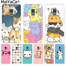 Maiyaca Lucu Ginger Pizza Ikatan Simpul Kucing Kawaii Phone Case Fashion untuk Samsung S9 S9 Plus S5 S6 S6edge S6plus S7 s7edge S8 S8plus(China)