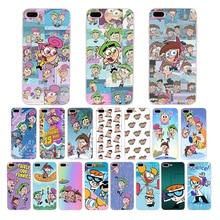 купить Fairly OddParents Soft silicone case for iphone cover 6s 6 7 8 plus 5 5s se x xr xs max TPU Cute cartoon patterns phone shell по цене 89.88 рублей