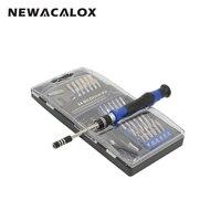 NEWACALOX 54 trong 1 Multitool Chính Xác Screwdriver Torx Sao Hex T8 Máy Khoan Từ cho Đồng Hồ Điện Thoại Sửa Chữa Kính Mát Tool Kit