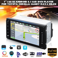 for Android 6.0 Car Stereo Sat Nav GPS WIFI Radio Fits For Toyota Corolla Hilux RAV4