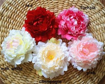 Peony Heads Silk Peony Flowers 15cm Peonies artificial Flowers Wholesale Bulk Flowers Wedding Backdrops Photography Background
