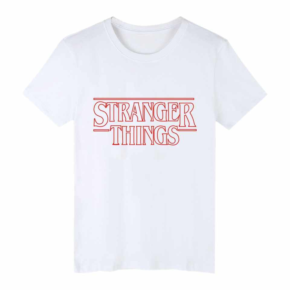 Странные вещи, футболка, летние странные вещи, футболка, homme, Мужская футболка в стиле хип-хоп starnger things, футболка