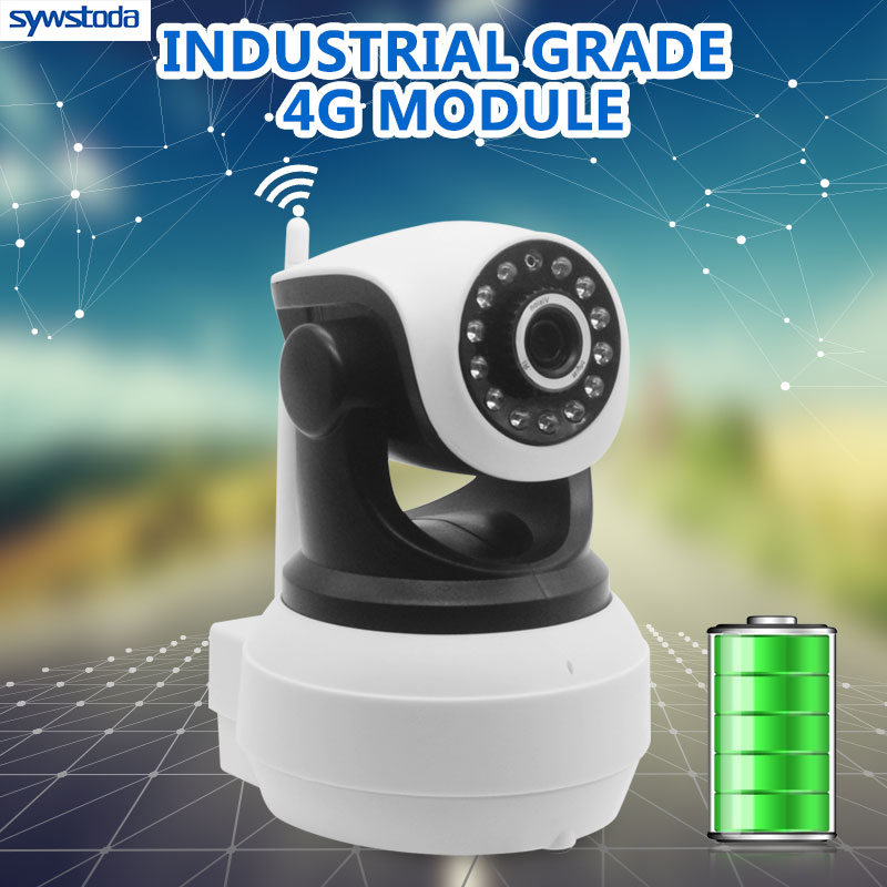 3G 4G Wifi Wireless Surveillance Outdoor Camera HD 960P Smart CCTV Security Camera Night ...