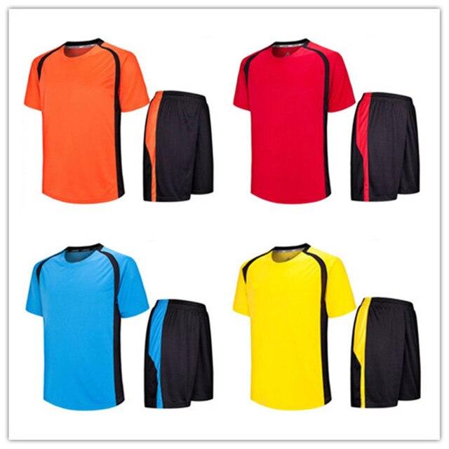 59d49a131 Can Mixed Order Mens Blank Soccer Jersey Custom No Logo Blank Sportswear Training  Jerseys 2017 Cheap Football Suit LD-5009