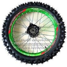 """60/100-14 GuangLi шины для передних Dirt Bike Pit Bike гоночные колеса 1,40-1"""" дюймовый сплав обода с 32 отверстиями шины PIT PRO KTM CRF"""
