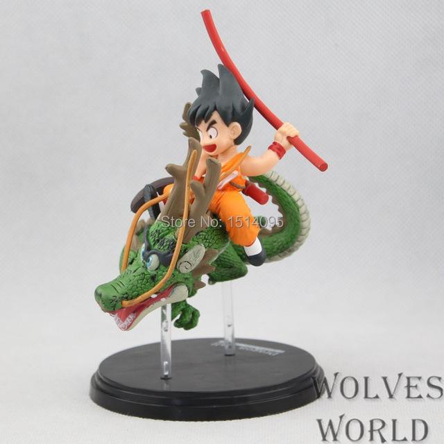 Son Goku Riding Dragon Model (16 CM)