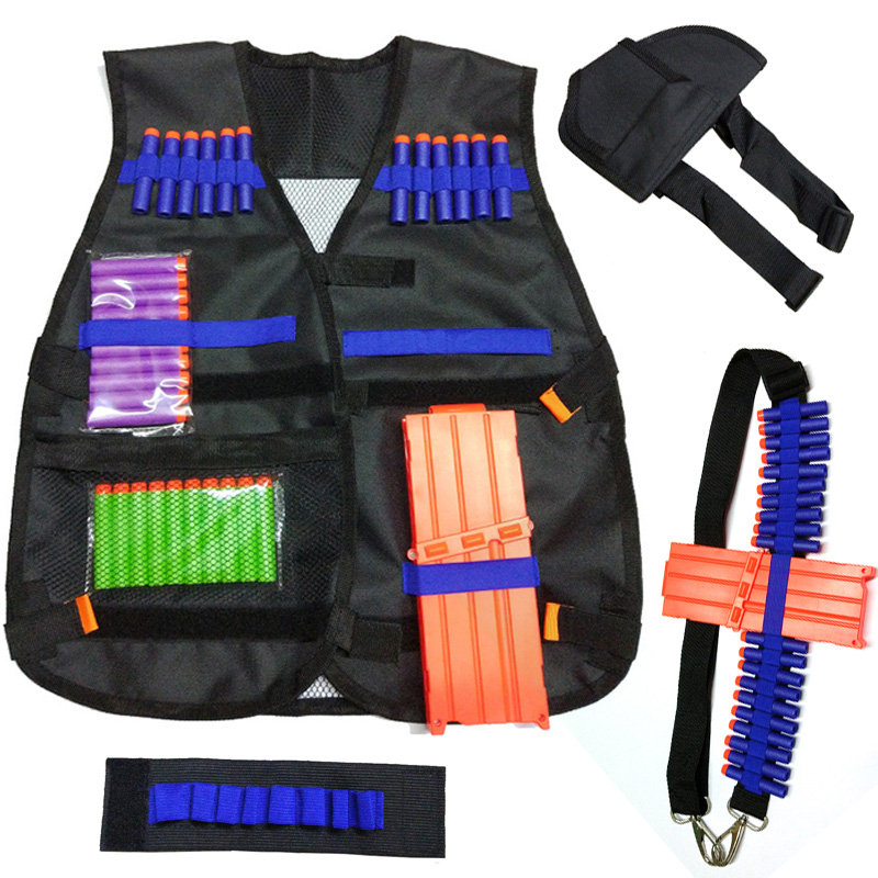 Tactical Equipment Gun shuttle Bullet Magazine for Nerf Accessories Clip Compatible