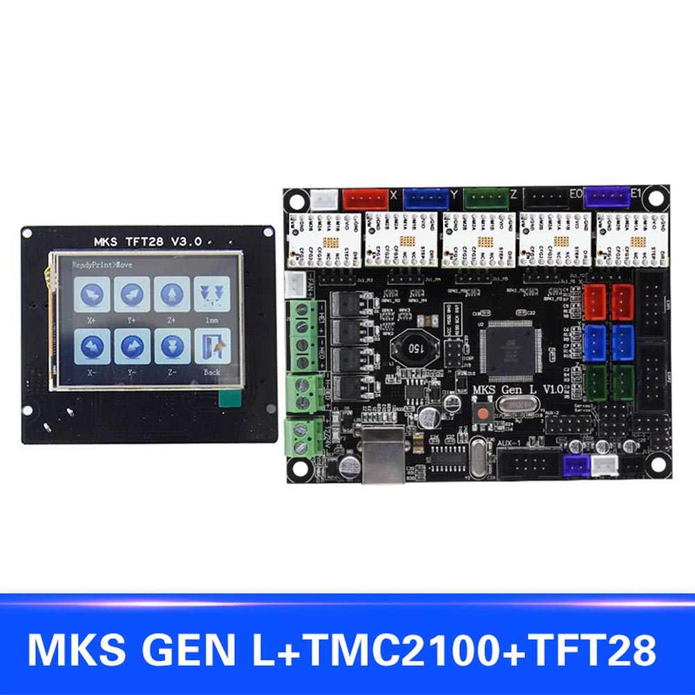 New Hot のために MKS 世代 L と互換性 TFT28 Lcd ディスプレイサポート TMC2100 モータドライバ 3D プリントキット NV99