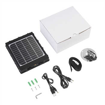 4G Hunting Camera Solar Panel Charger 3W For BL480L-P Photo-traps 3000mAh Solar Panel Aluminum Battery Polymer for Hunter Camera