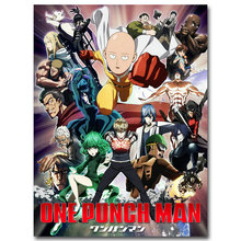 ONE PUNCH MAN Art Silk Poster 12×16 24×32 inches