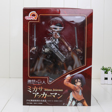 "10"" Attack on Titan Ackerman 1/8 Complete PVC Action Figure Collectible Toy Attack on Titan Figure"