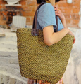 Straw Bag 2015 New Hot Summer Fashion Beach Bags Woven Light Material Women Bag Free Shipping A1142