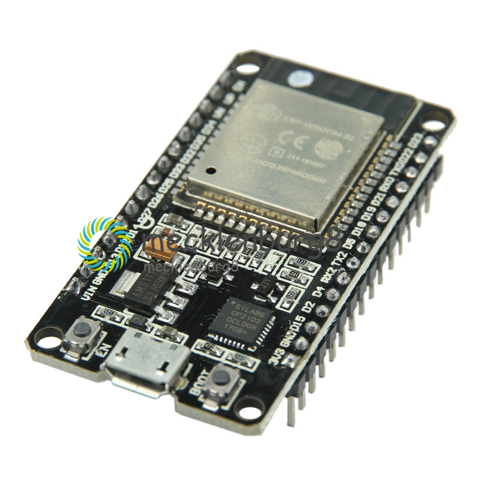 ESP-32 ESP-32S Wireless WiFi Bluetooth Development Board 2.4GHz Micro USB CP2102 Dual Core Module ESP32 With Pins Beyond ESP8266