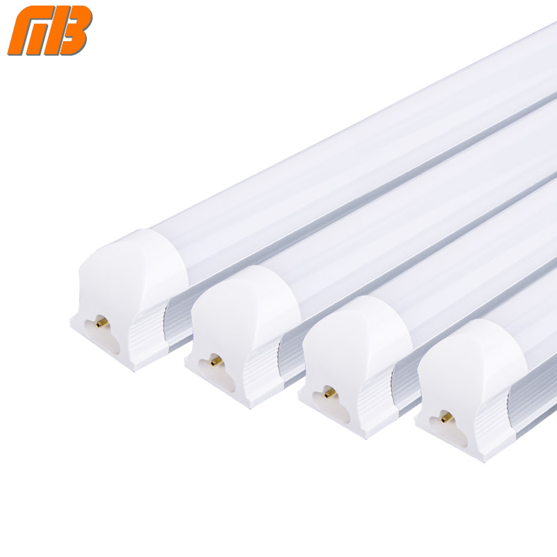 [MingBen] 4pcs/lot T8 LED Tube 9W 2ft=60cm 12W 3ft=90cm 220V 230V PVC Plastic LED Fluorescent Tube Cold White Warm White lot 2 90 lot 3 60 g700 sop28