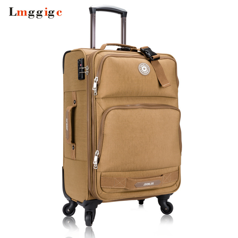 Oxford Fabric Luggage bag,Men Women Universal Wheel Suitcase,Waterproof Travel box,Rolling Trolley Carry-On, High capacity Bag