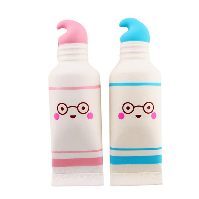 Squishy Squeeze Stress Reliever Simulation Cartoon Cute Toothpaste Scented Slow Rising Toy Squeeze slime funny squishys