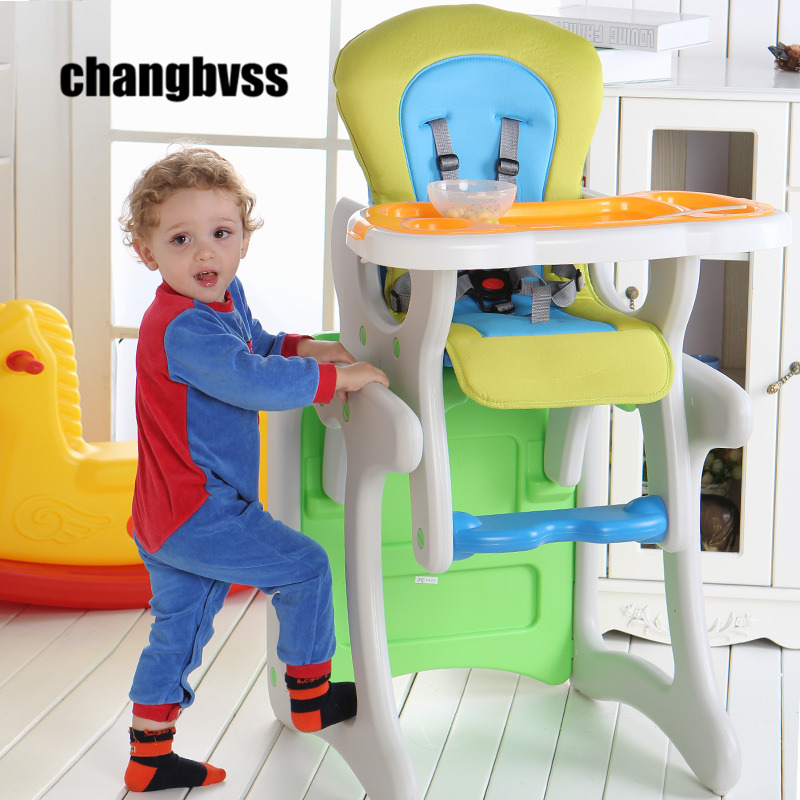 Baby Dining Chair Baby Feeding Highchair Separable Chair Desk Multifunctional Baby High Feeding Dinner Chair Table Free Shipping baby highchair foldable high chair for kids adjustable feeding chair with pu leather cushion dining table with wheels