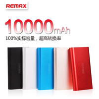 REMAX 10000mAh 2 1A Dual USB LED Metal Portable External Extended Battery Safe Mobile Backup Power