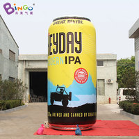 Promotional 4.6 meters tall big inflatable can / inflatable beer can / giant inflatable beer can toys