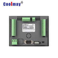 Coolmay 7 inch 24DI 20DO programming plc with hmi touch panel integrated MX2N-70HB-44MT-485H