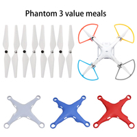 4pcs Propeller Protector Guard 4 Pairs 9450 Propeller CW CCW Drone Body Silicone Protective Cover For
