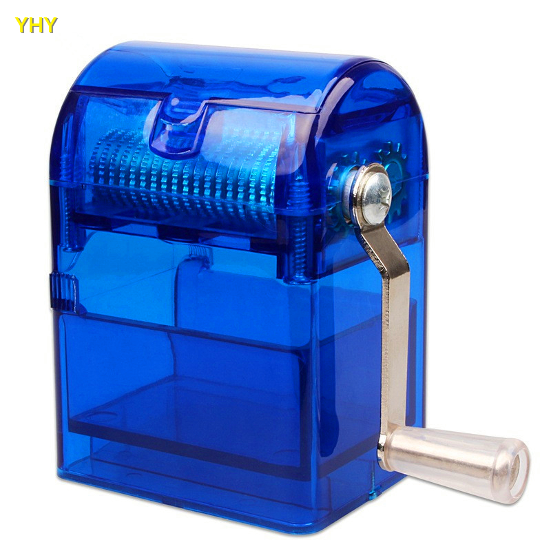Hand Cutter Metal Weed Grinder Hookah Herb Smoking Shredder Grinders Cigar Tobacco Crusher Smoke Hand Crank