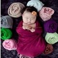 0-24 Meses Del Bebé Envuelto En Tela de Rayón Envolver Mantas Recién Nacidas Fotografía Recién Nacido accesorios de Fotografía + Flor Del Tocado