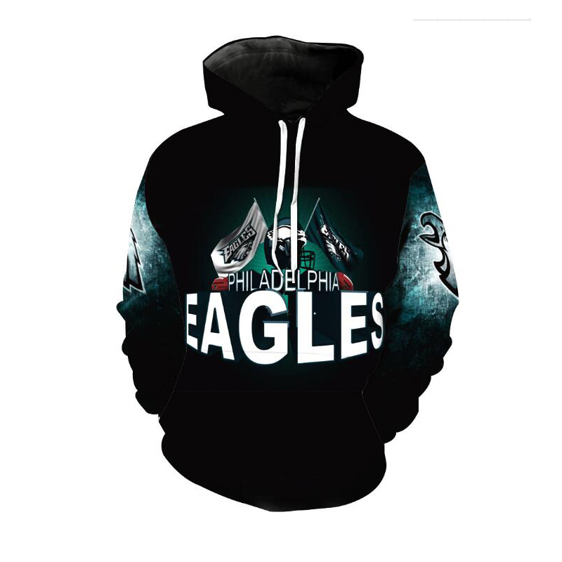 Cloudstyle New Fashion Eagle  Hoodies Men Thin 3d Sweatshirts With Hat Print Euramerican Funny Hooded Hoodies Plus Size 5XL-in Hoodies & Sweatshirts from Men's Clothing    1