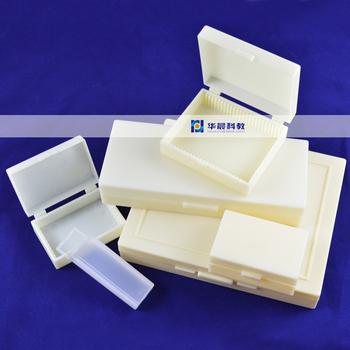 5 sztuk 10 sztuk 15 sztuk 25 sztuk 50 sztuk 100 sztuk z tworzywa sztucznego biopsji slajdów pudełka Biomicroscopy mikroskop biologiczny slajdy próbki puste pudełko tanie i dobre opinie SHANBAO empty box Szkło mikroskopu Slajdy NONE