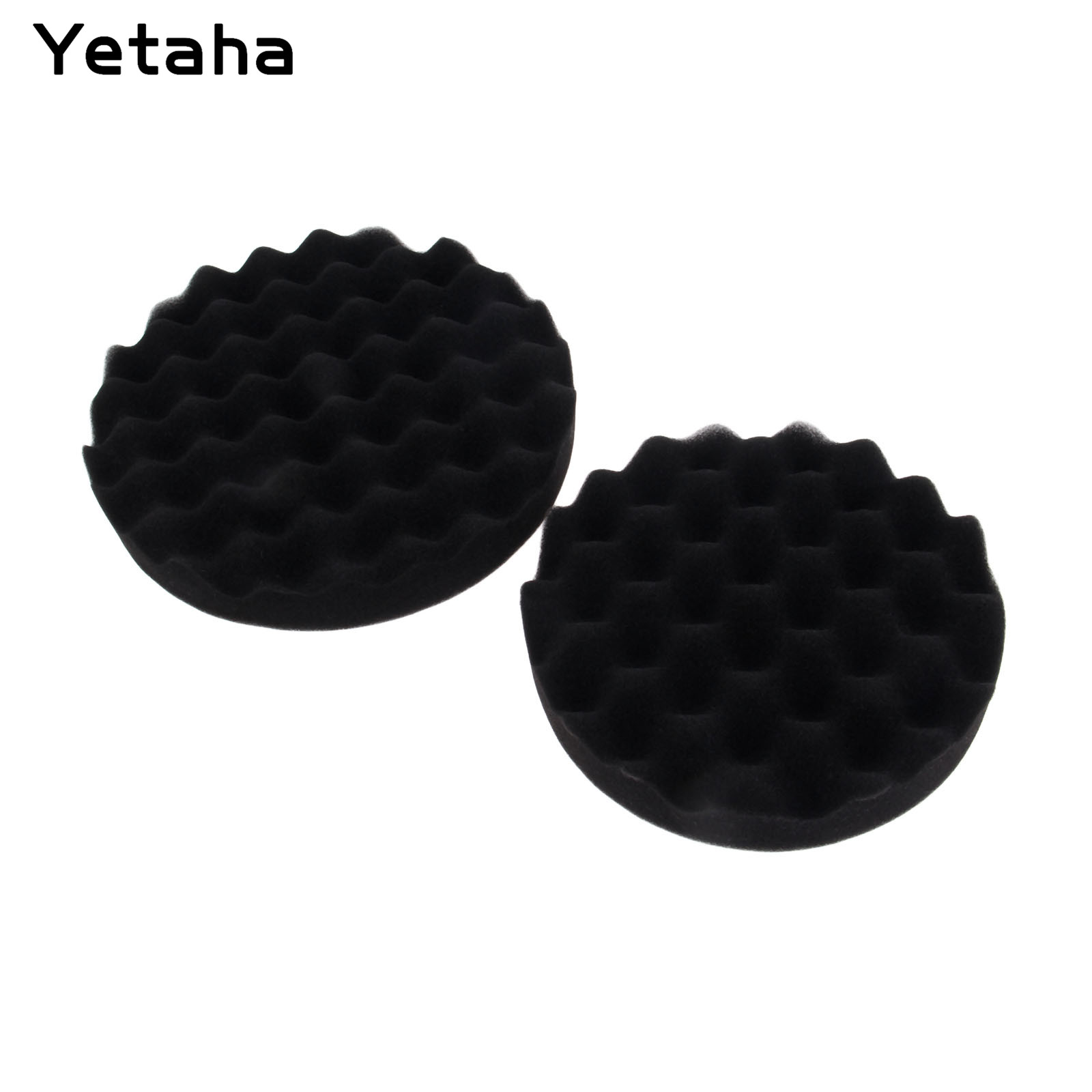 """Image 3 - 5Pcs 6"""" 7"""" 150/180mm Buffing Polishing Sponge Pads Kit Car Polisher Soft Wave Foam Waffle Pad Car Wash Cleaning Detailing Tool-in Sponges, Cloths & Brushes from Automobiles & Motorcycles"""