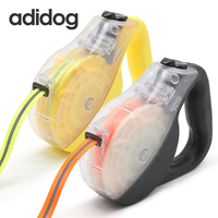 2018 New Pet Dog Leash Retractable Leashes Automatic Leads lead Strong TPU Collar rope for Small Large Dog Harness Chain adidog
