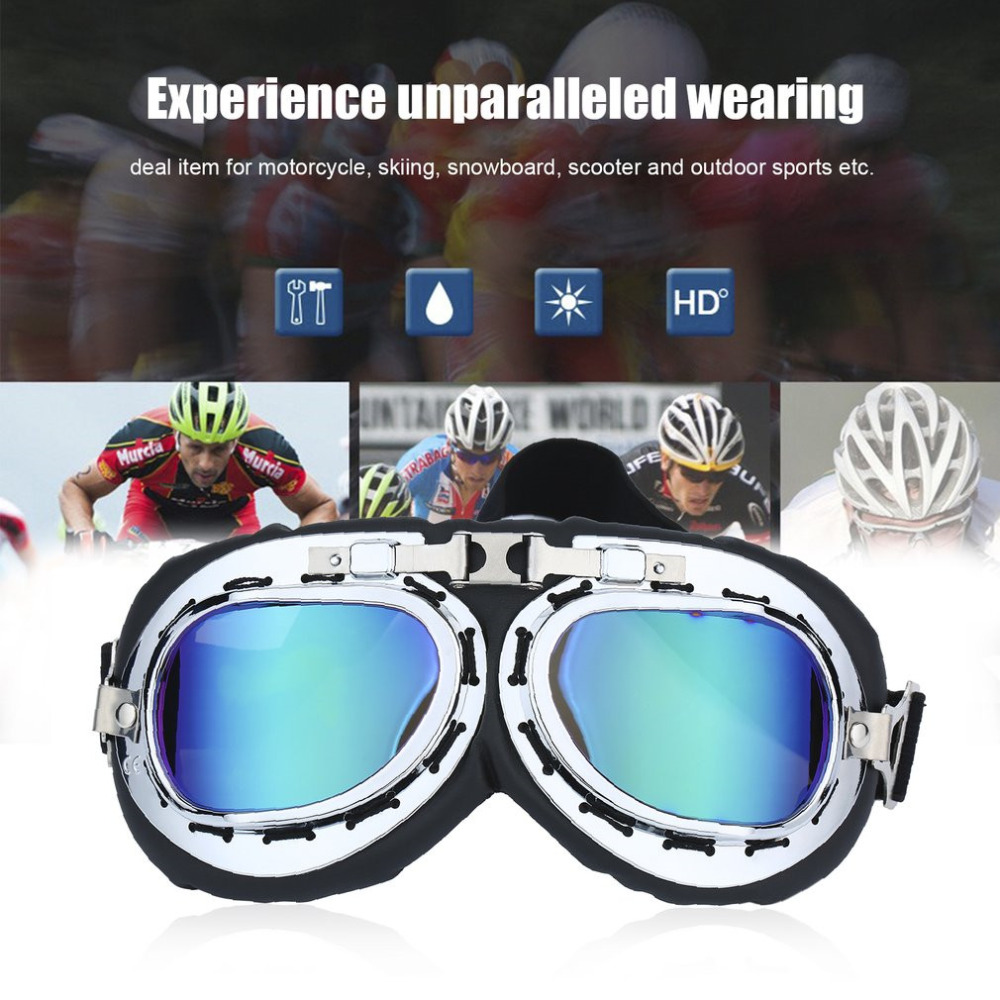 Sunglasses Universal Scooter Goggles Motorcycle Motorbike Glasses Ski Dirt Bike Cycling Goggle Motocross Glasses
