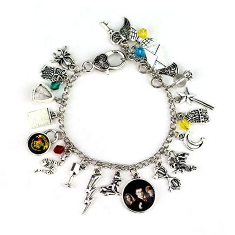 Fashion Jewelry Hogwarts &Fantastic Beasts And Where to Find Them Bracelet men and women Accessories