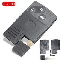 Smart Replacement Smart Remote Key Shell Case Fob 3 Buttons for Mazda 5 6 CX-7 CX-9 RX8 Miata MX5