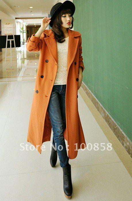 Ladies Wool Coats Full Length | Fashion Women's Coat 2017