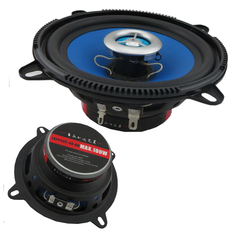 5 Inch 100 Watts High quality Two Coaxial Car 5