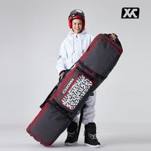 XCMAN Roller Snowboard Bag with Wheels Adjustable Length for Air Travel – Extra Long/Wide/Deep,Waterpeoof – with ABS Protection