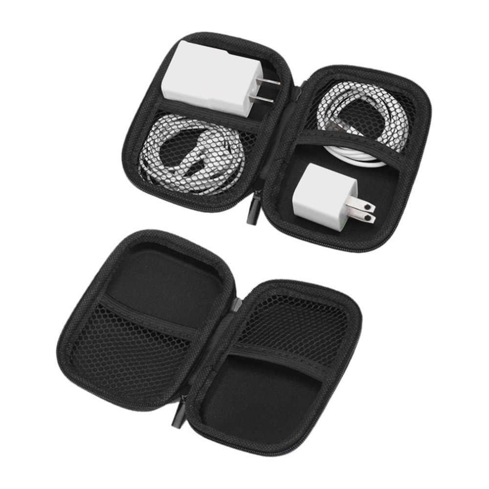 متعددة الوظائف إيفا قوة البنك قرص صلب حقيبة للتخزين حقيبة صدمات حمل صندوق تخزين مع زيبر قطرة الشحن
