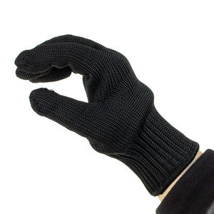 Image 5 - Fuers Gloves Proof Protect Stainless Steel Wire Safety Gloves Cut Metal Mesh Anti Cutting Breathable Work Gloves Self Defense