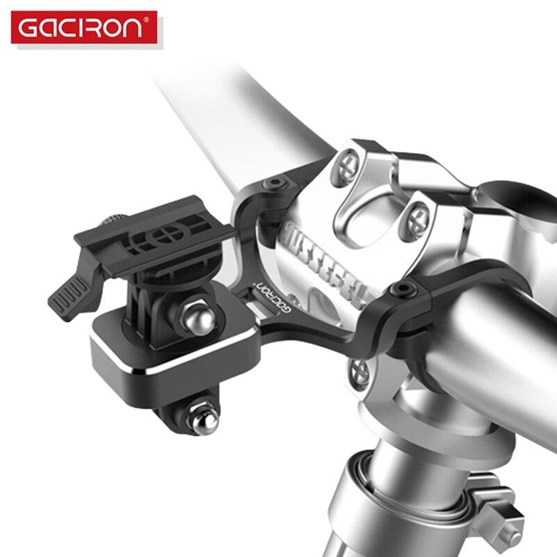 GACIRON Extension Bracket Bike Light Phone Holder Bicycle Camera Holder Stands Multifunctional Handlebar Light Extender Bracket foldable portable phone flat bracket